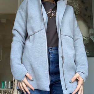 Jackets & Blazers - Light grey fall jacket